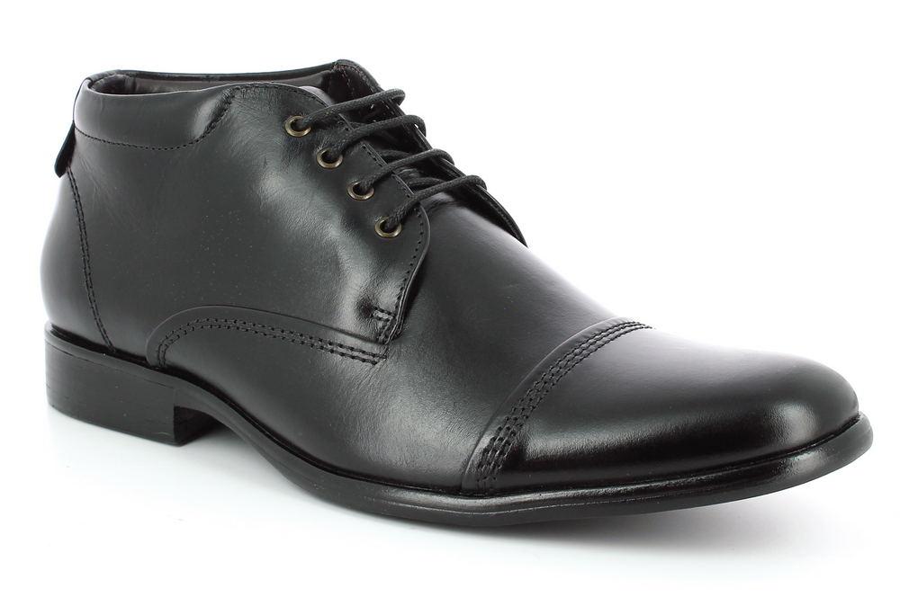 Pánska kožená členková obuv Democrata Trento - Glami.sk 348014bfef