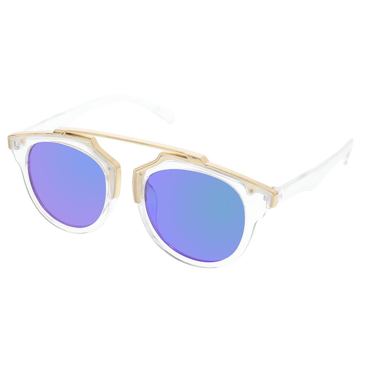 b445877af VeyRey Sluneční brýle Weight pruhledné obroučky zelená skla - Glami.sk