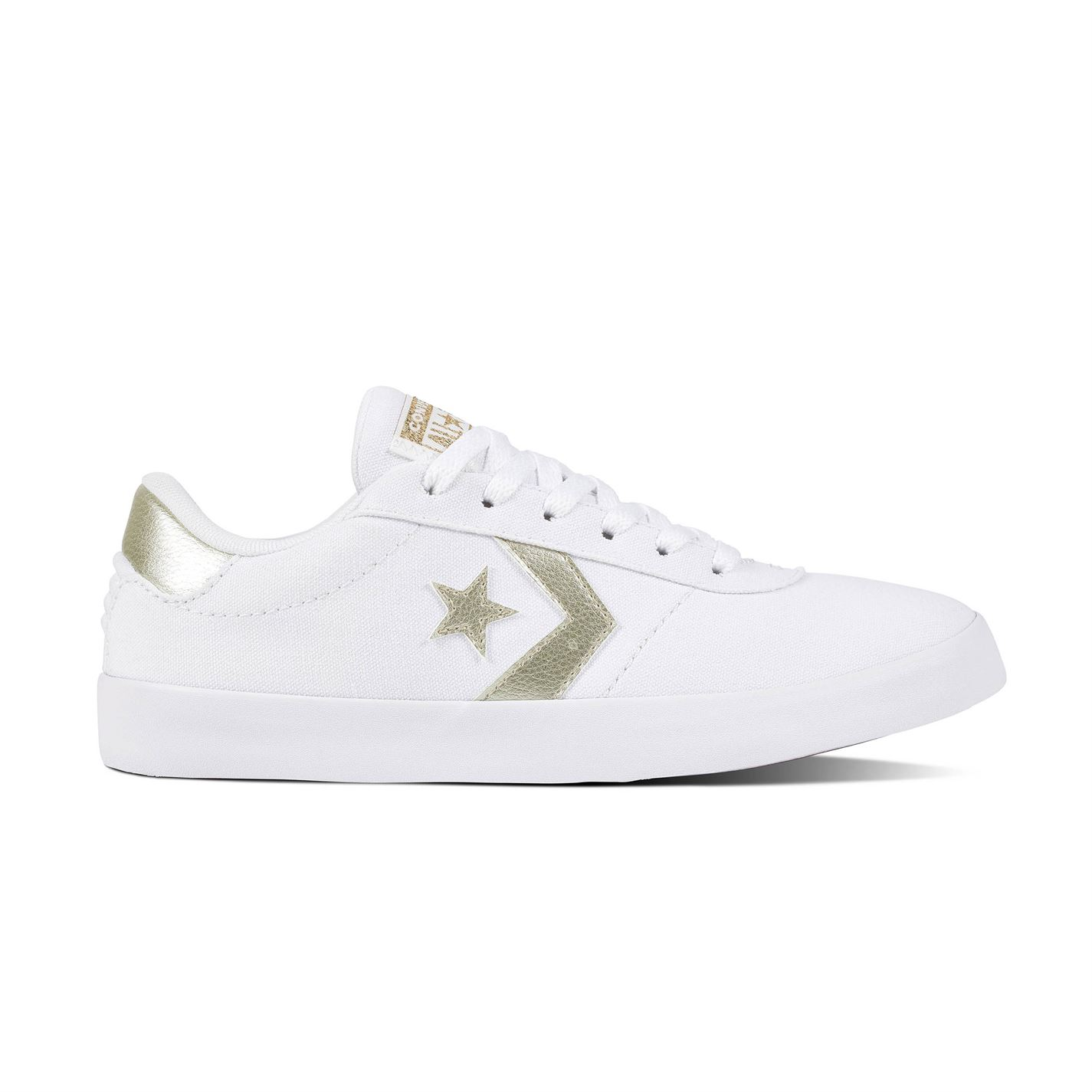 Converse Point Star Ox Shoes White Gold - Glami.sk 4bc607d731
