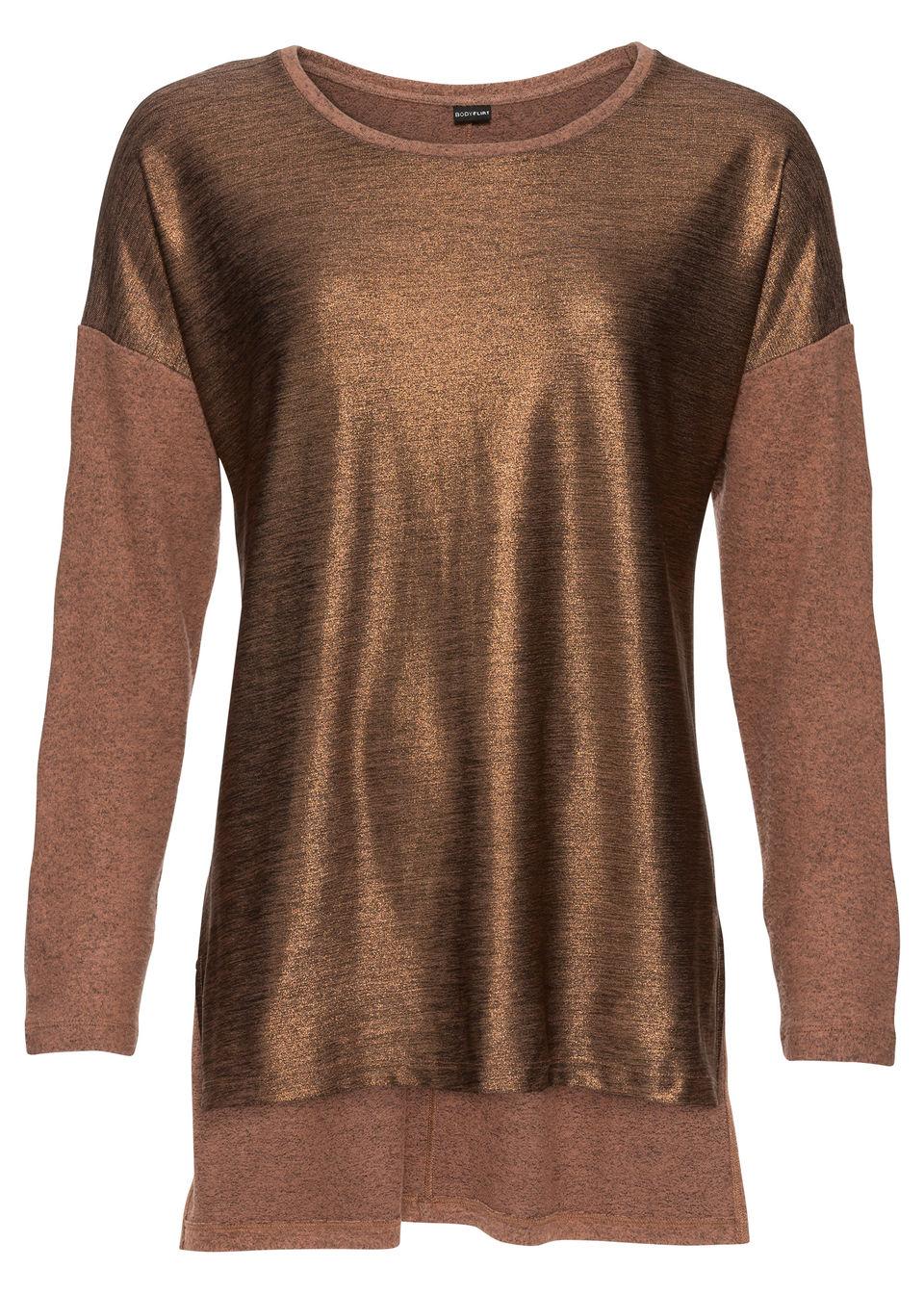 Bonprix Oversize džersejové tričko s metalickou potlačou - Glami.sk fdc3c631e7