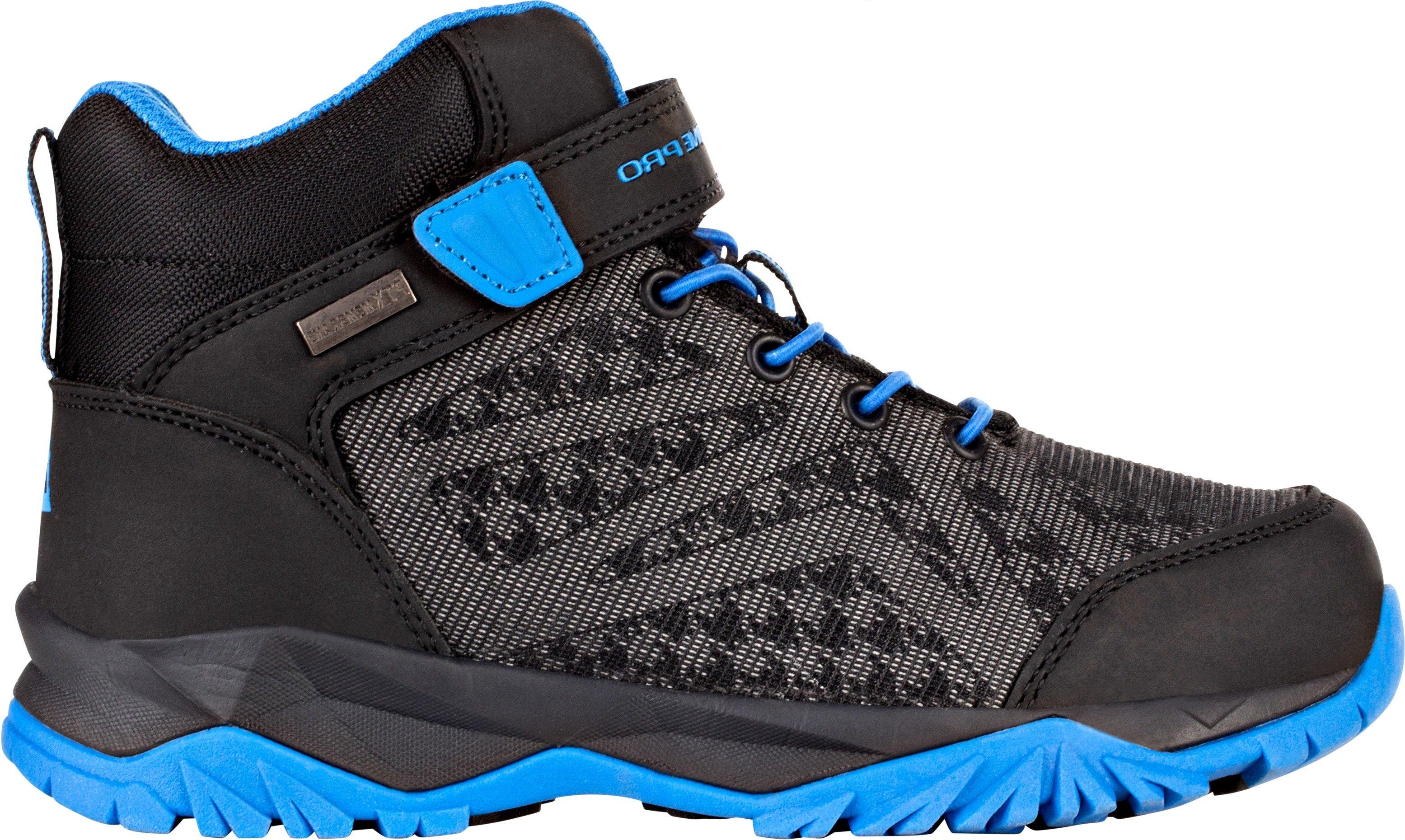 0d693917c261 ALPINE PRO Chlapecká kotníková outdoorová obuv UGO - černo-modrá ...