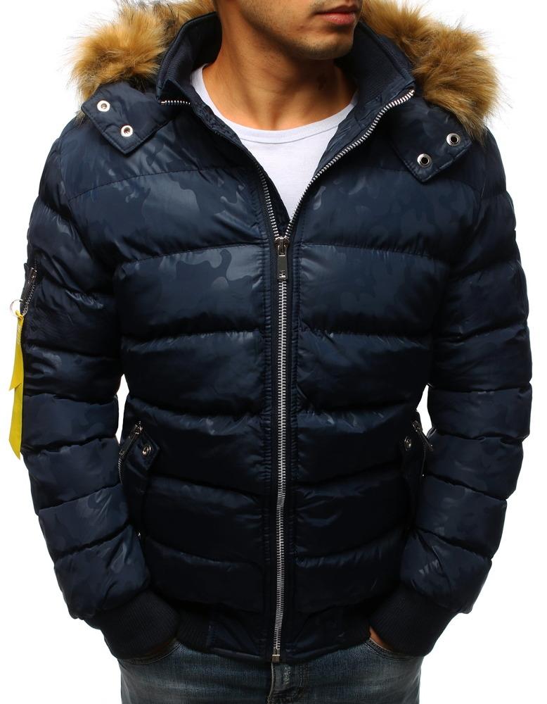 Brand Zimná bunda pre mužov (tx2322) - tmavomodrá tx2322 - Glami.sk dc6d6032aa5