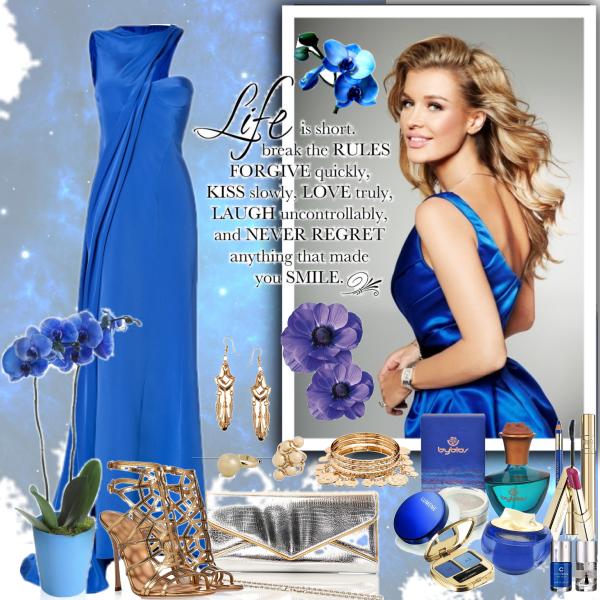 blue orchidea