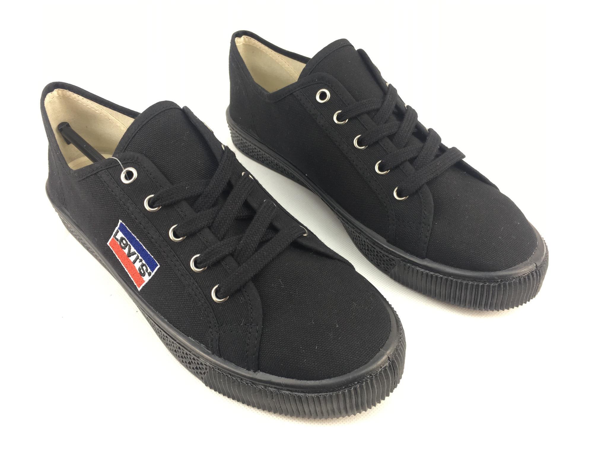 91868824751 Dámské boty Levis Malibu Logo Canva Černé - Glami.cz