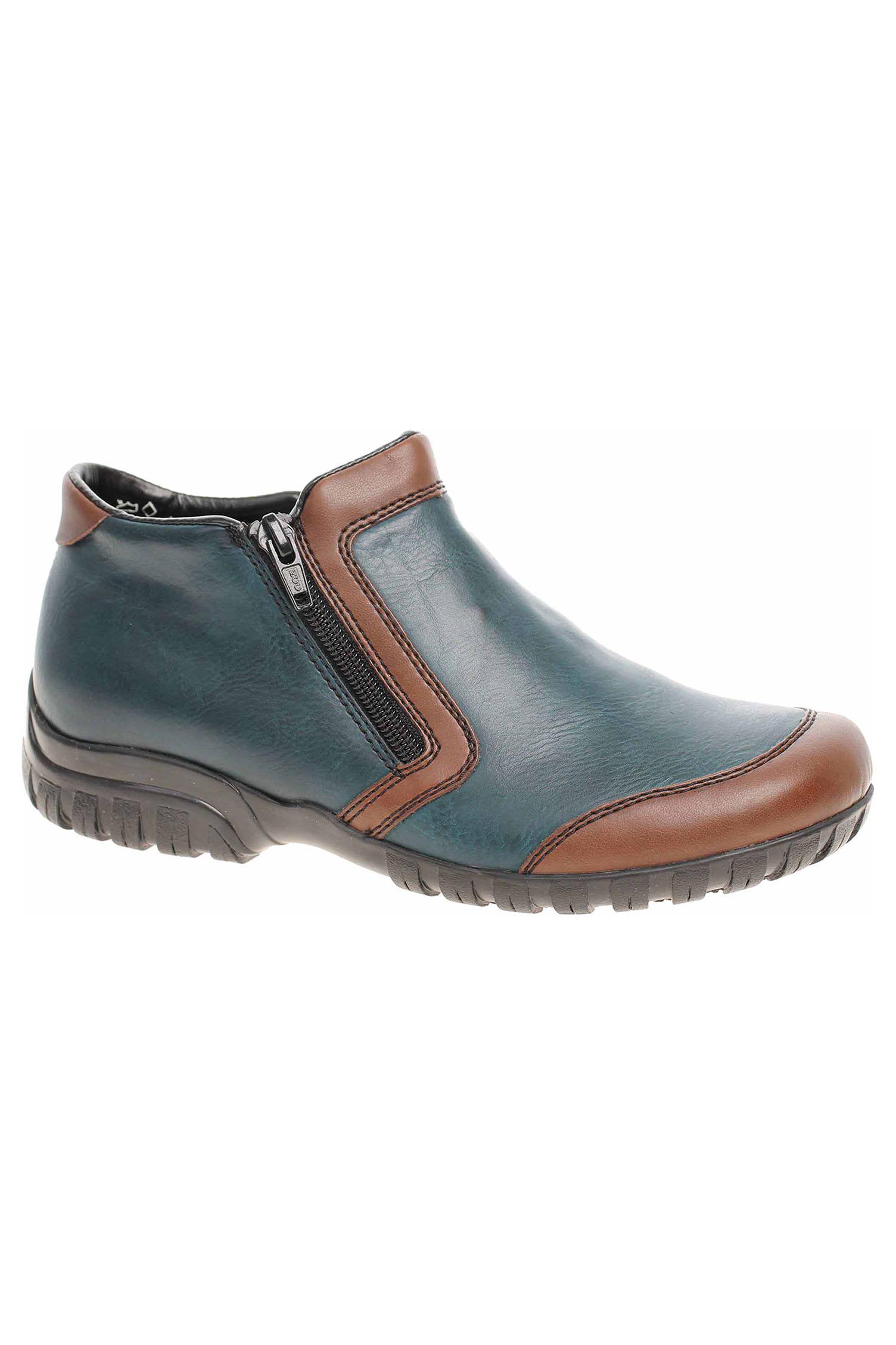 044db71c4f Dámská kotníková obuv Rieker L4659-25 blau kombi L4659-25 - Glami.sk