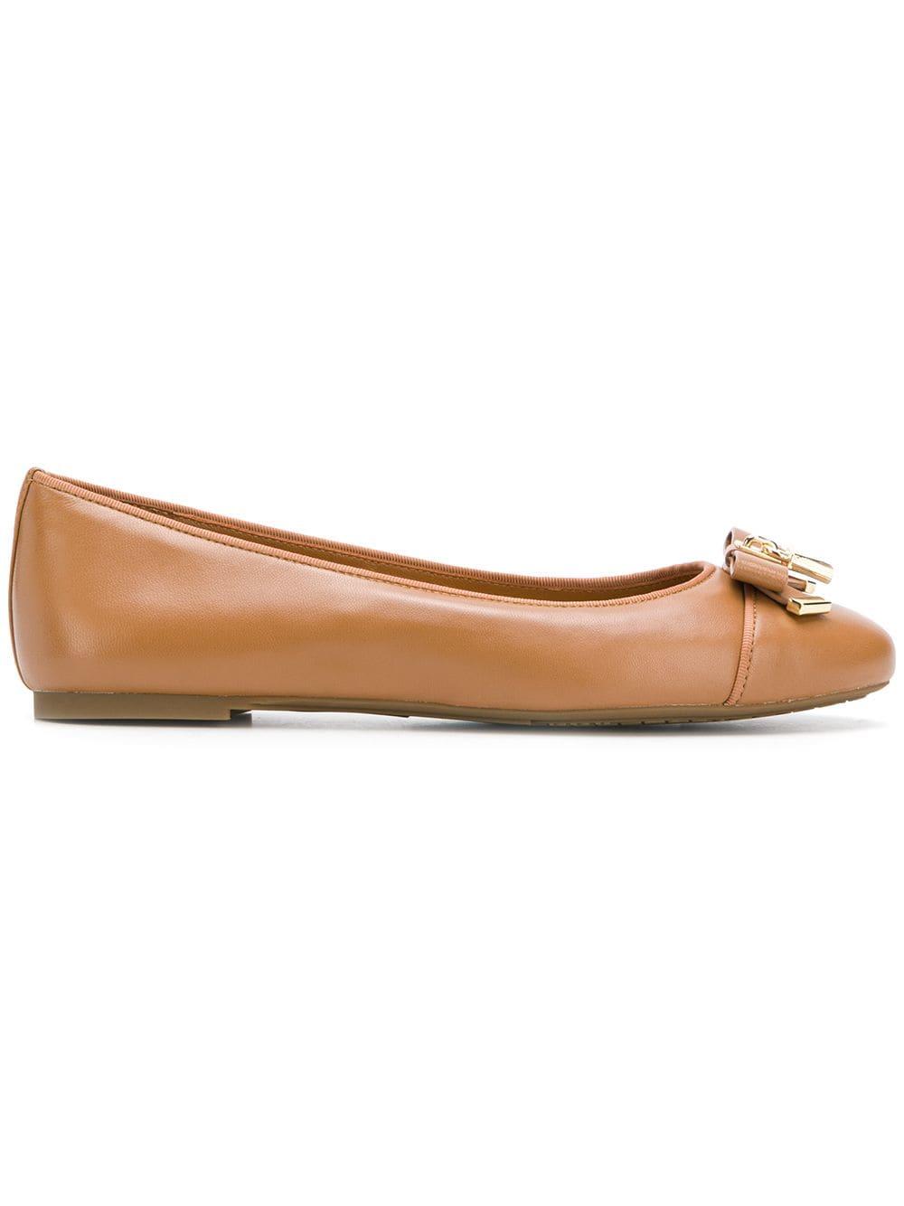 Michael Michael Kors Alice ballerina shoes - Brown - Glami.cz 661b4b76b25