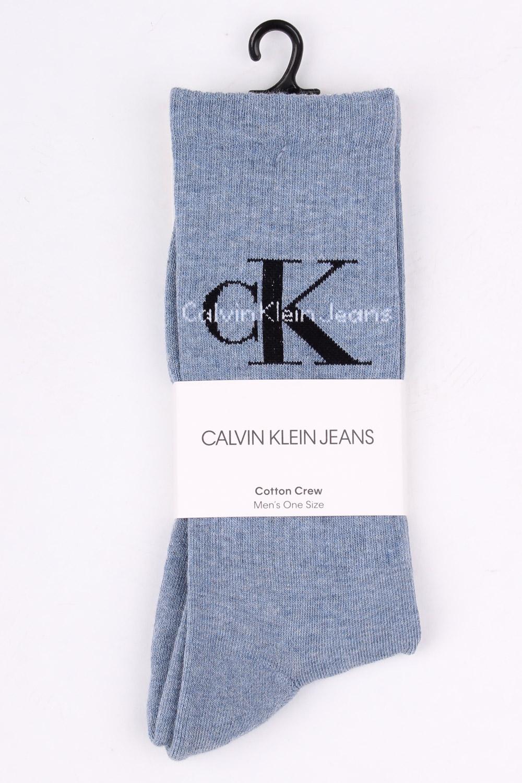 923347599d0 Calvin Klein světle modré pánské ponožky Jeans Logo Stonewash - Glami.sk