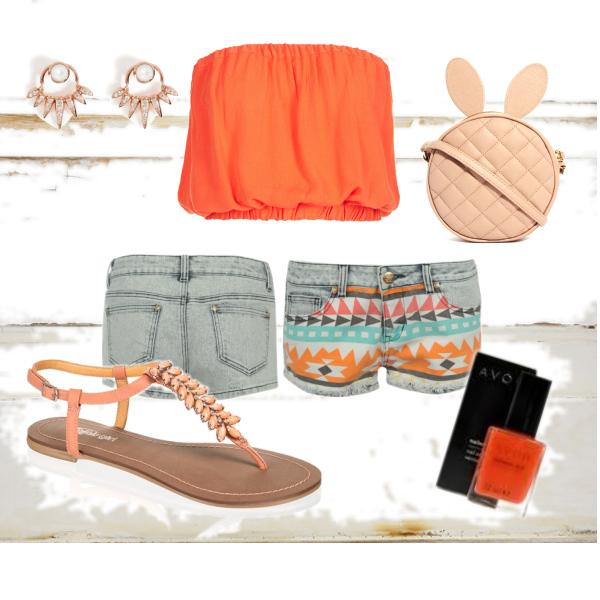 oranžové léto