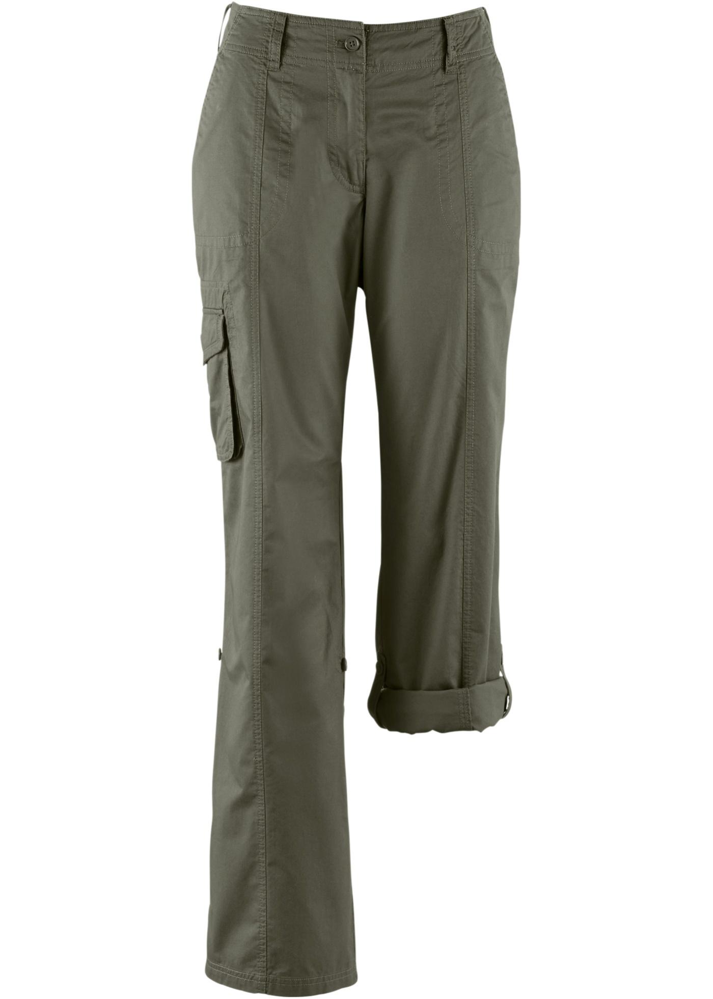 bpc bonprix collection Bonprix - Pantalon cargo vert pour femme ... a81ab13d507a