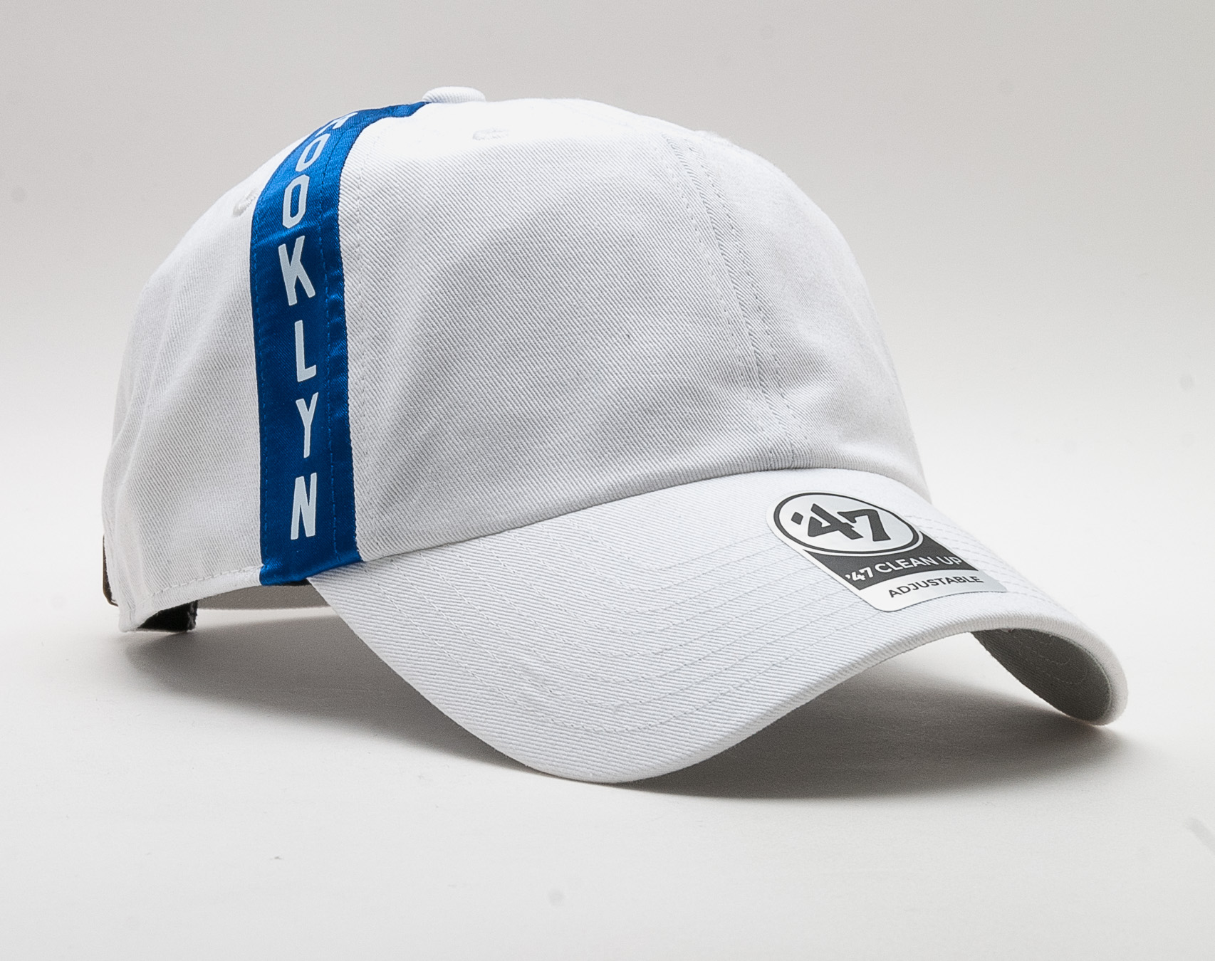 low priced c70a1 85048 Kšiltovka 47 Brand Brooklyn Dodgers Trolley Clean Up White Strapback. 1