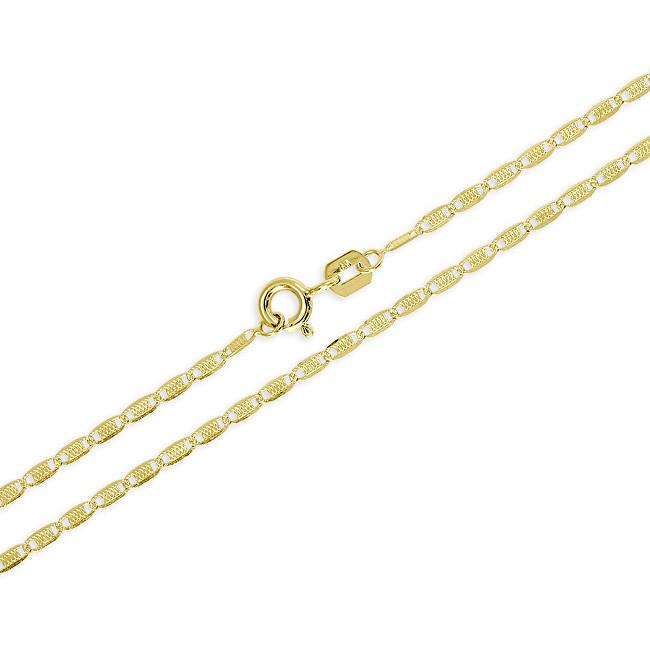24dcd6bee Brilio Jemný zlatý retiazka pre ženy 45 cm 271 115 00136 - 2,10 g ...