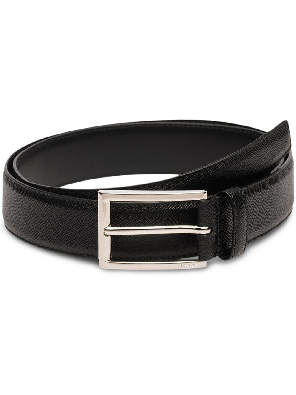 Prada classic buckled belt - Black - Glami.sk 20d42a2d858
