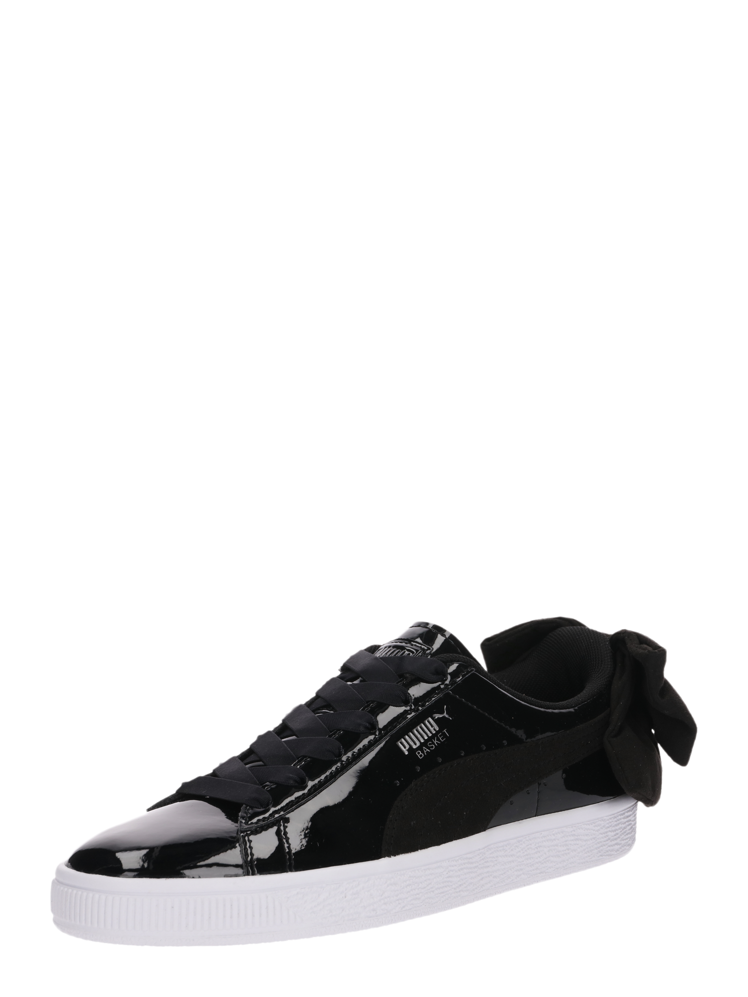 PUMA Tenisky  Basket Bow SB  černá   bílá - Glami.cz 273479a6b29