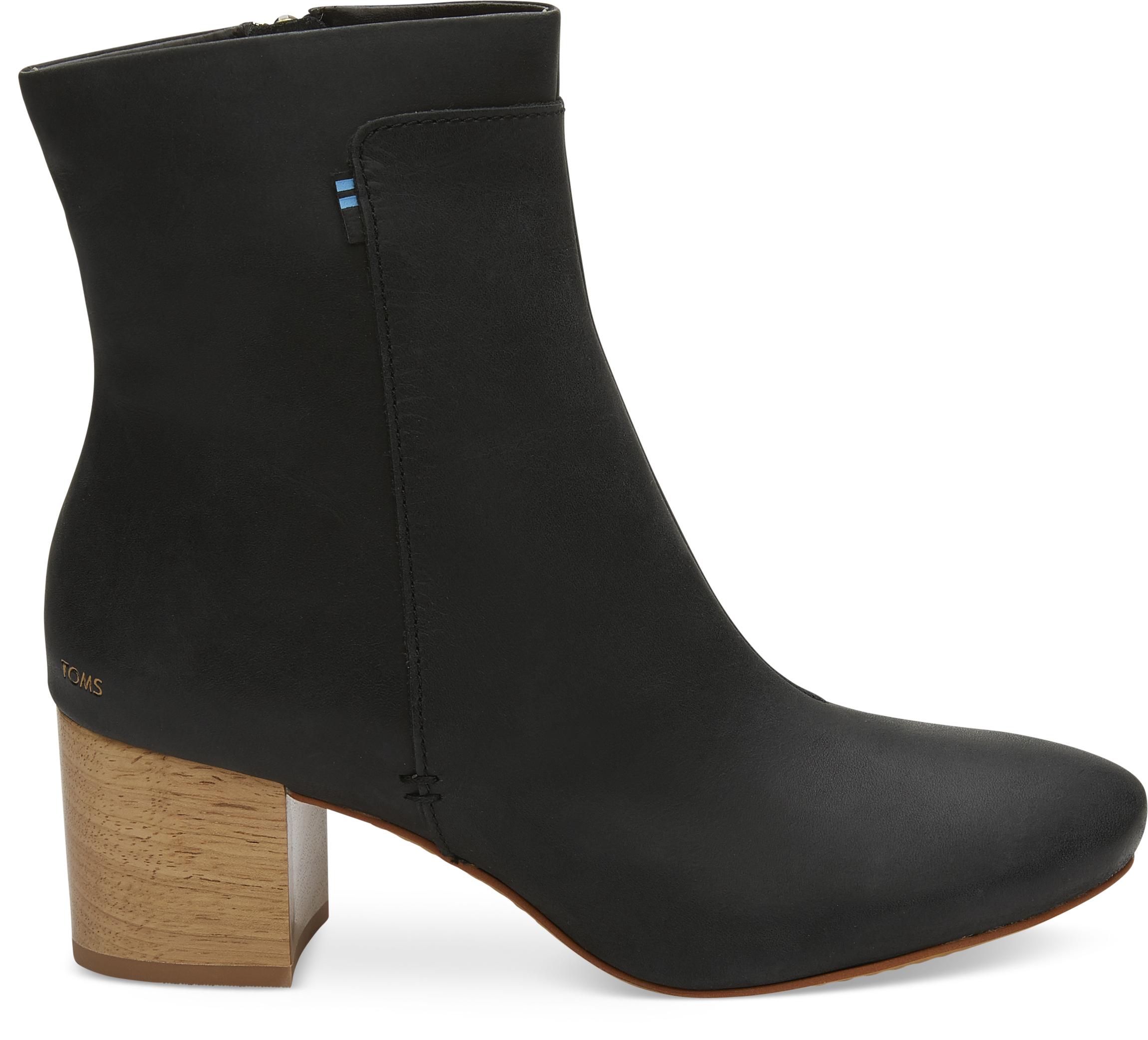 296cd99f2036 Dámske čierne členkové topánky TOMS Evie - Glami.sk