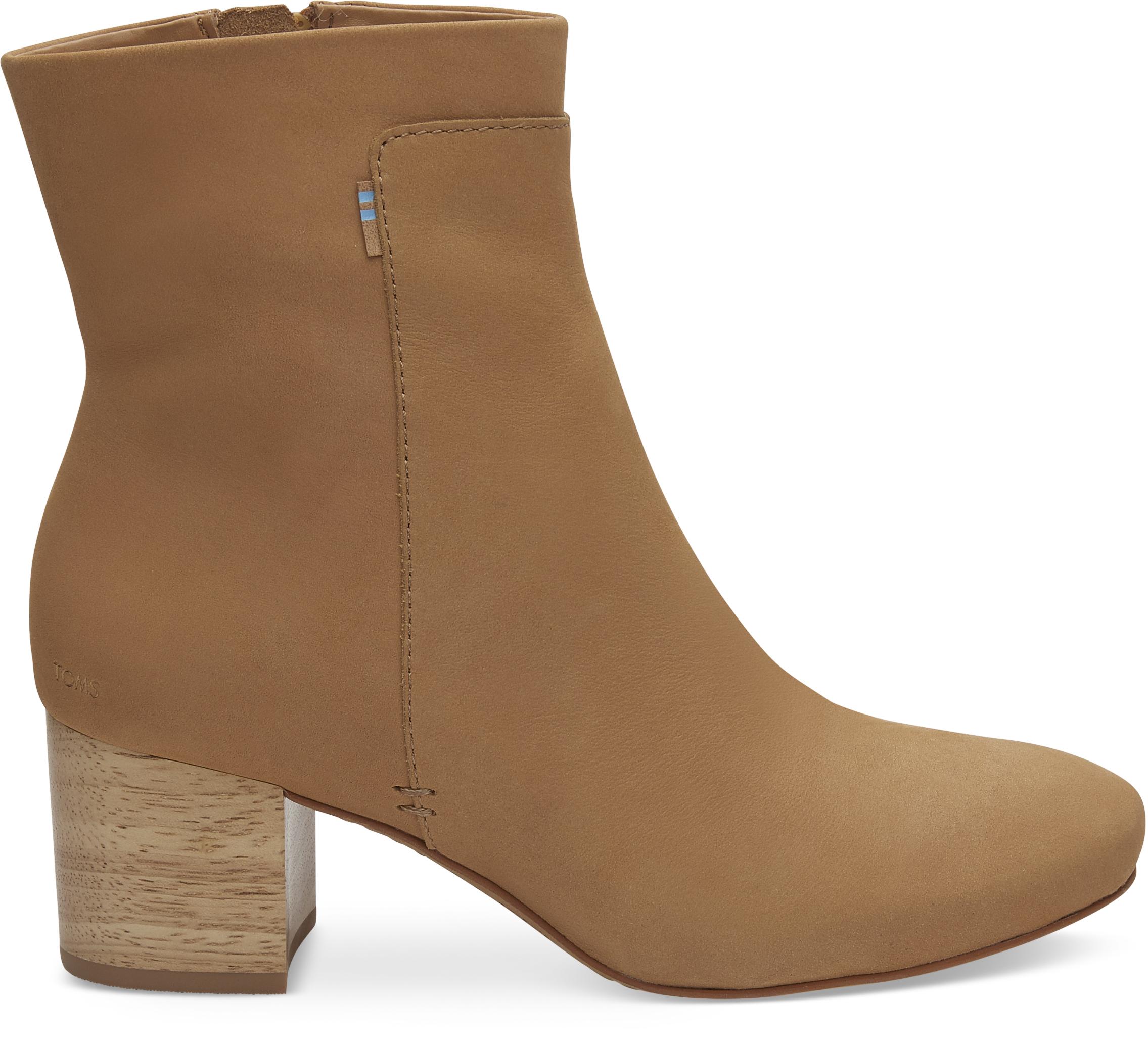 9e7f88a9577b Dámske hnedé členkové topánky TOMS Evie - Glami.sk