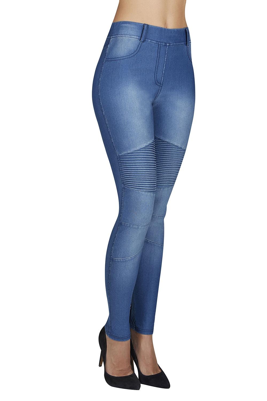 Ysabel Mora Dámské legíny Estrella s Push-Up efektem modrá - Glami.cz 2db0482016
