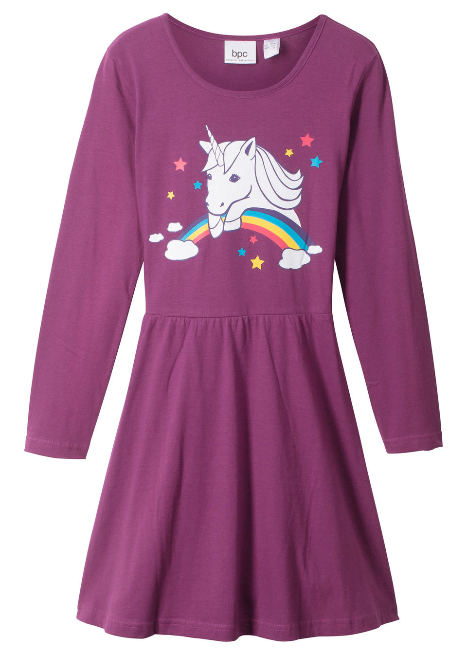 2159287318c8 Bonprix Dievčenské šaty s dlhým rukávom - Glami.sk