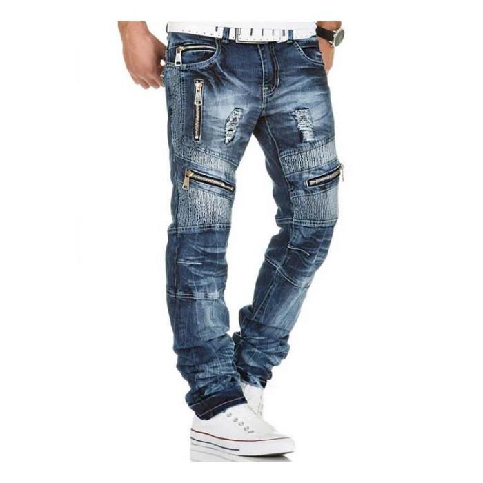 KOSMO LUPO džínové kalhoty pánské KM136 džíny - Glami.cz a9eeff86c0