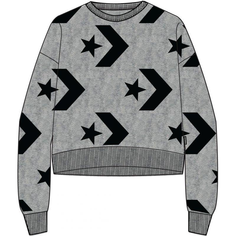 IKINA CONVERSE AOP Star Chevron Cropped - šedá - - Glami.cz df666100f9