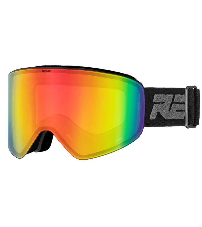 be1de7107 RELAX X-FIGHTER Lyžiarske okuliare HTG59 čierna - Glami.sk