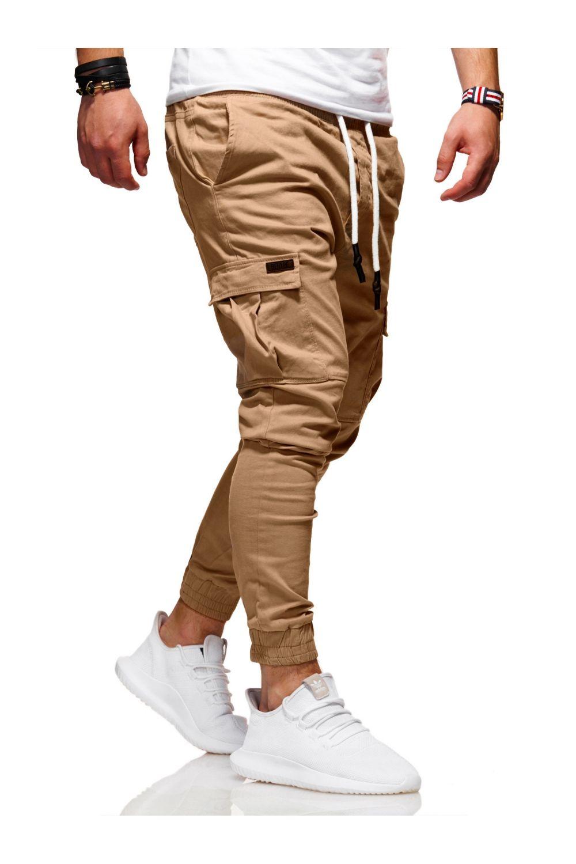 MyTrends Pánské kalhoty Jogger Chino RJ-3839 - Glami.cz 2cdcfbca7c