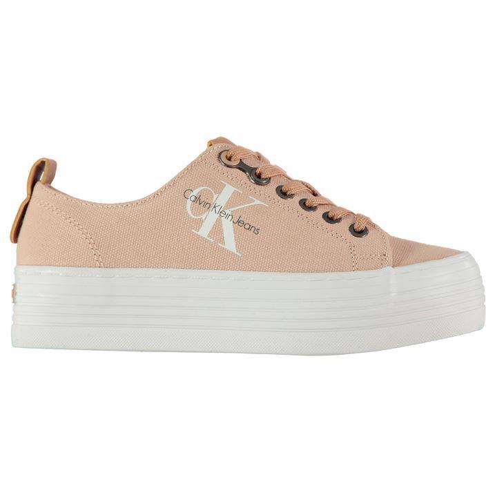 5456b0a6a ... boty Calvin Klein Zolah na platformě Růžové. -9%. Dámské ...