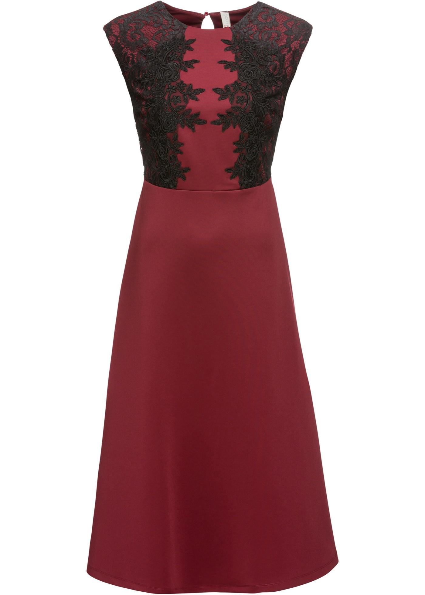 cfaf2d70bdb8 BODYFLIRT boutique Bonprix - robe d été Robe de soirée rouge sans ...