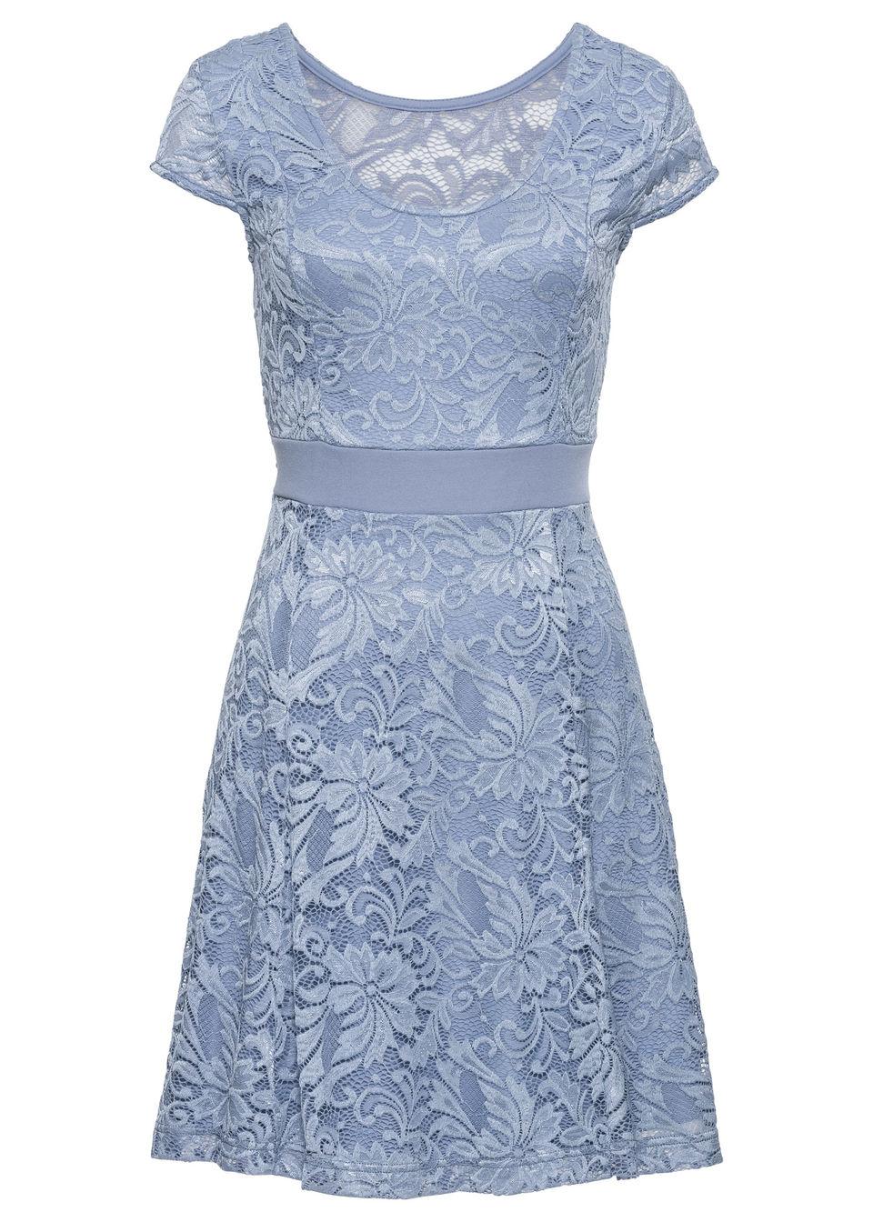bf4181fa7dd9 Bonprix Džersejové šaty s čipkou - Glami.sk
