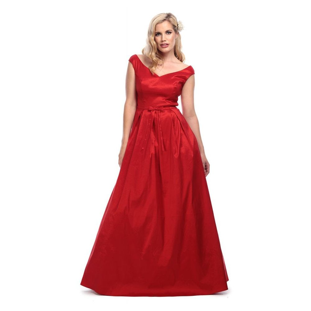 00f96d56f7b1 Collectif Vintage Miss Scarlet Maxi Dress - Glami.sk