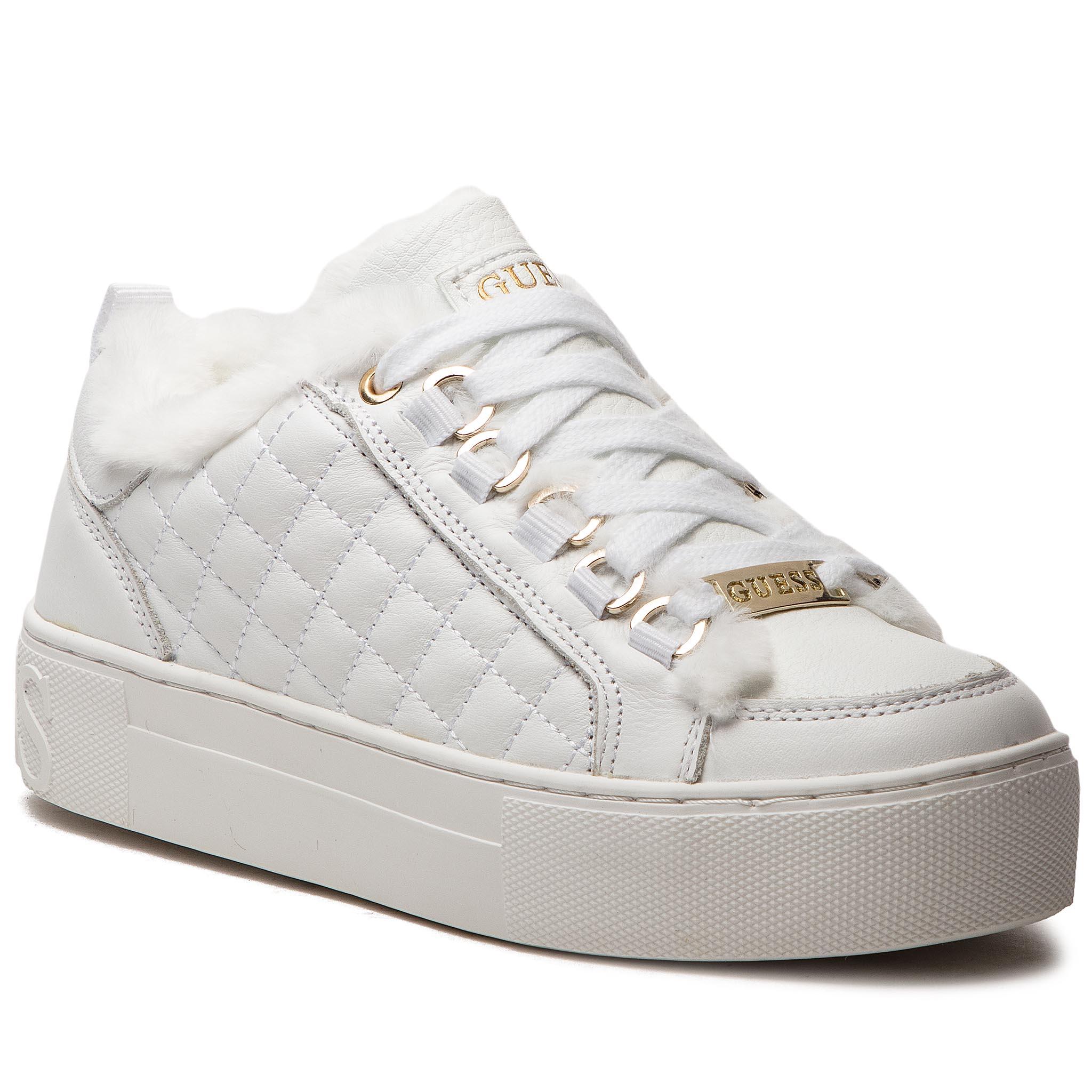 022fdbcdb2 Sneakersy GUESS - FLMET4 LEA12 WHITE - Glami.sk