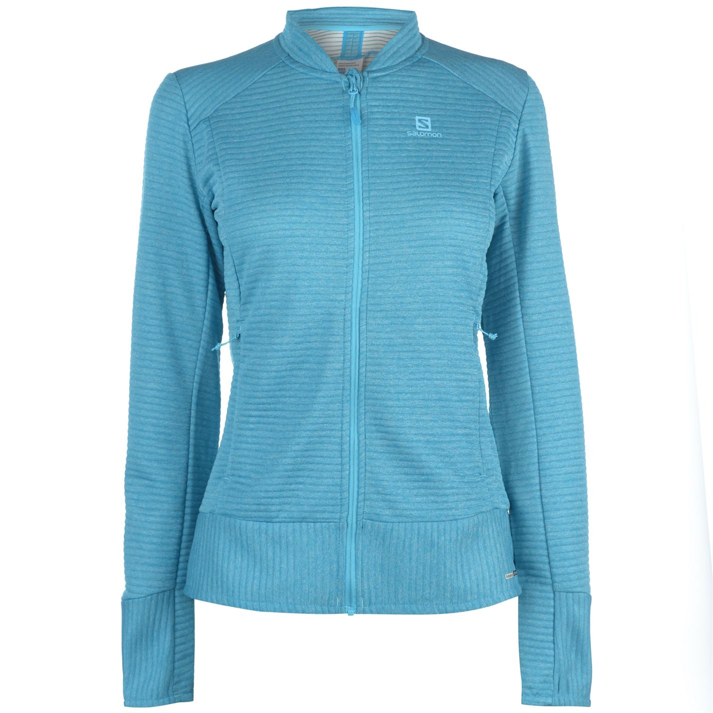 e95c89e97f Mikina Salomon Right Nice Fleece Jacket Ladies - Glami.cz
