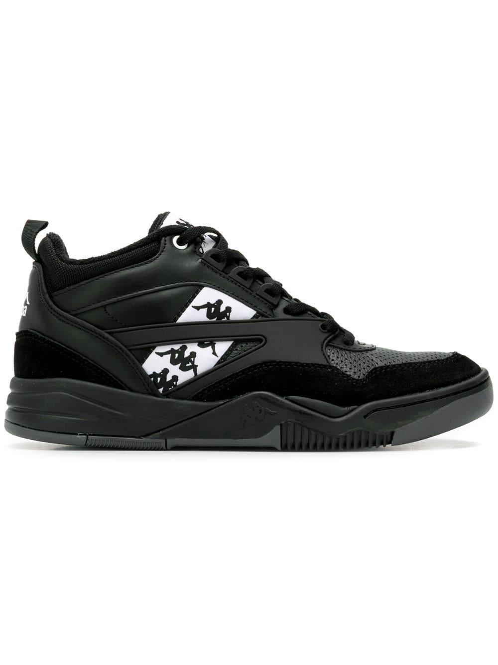Kappa hi-top sneakers - Black - Glami.sk b2bedc0248