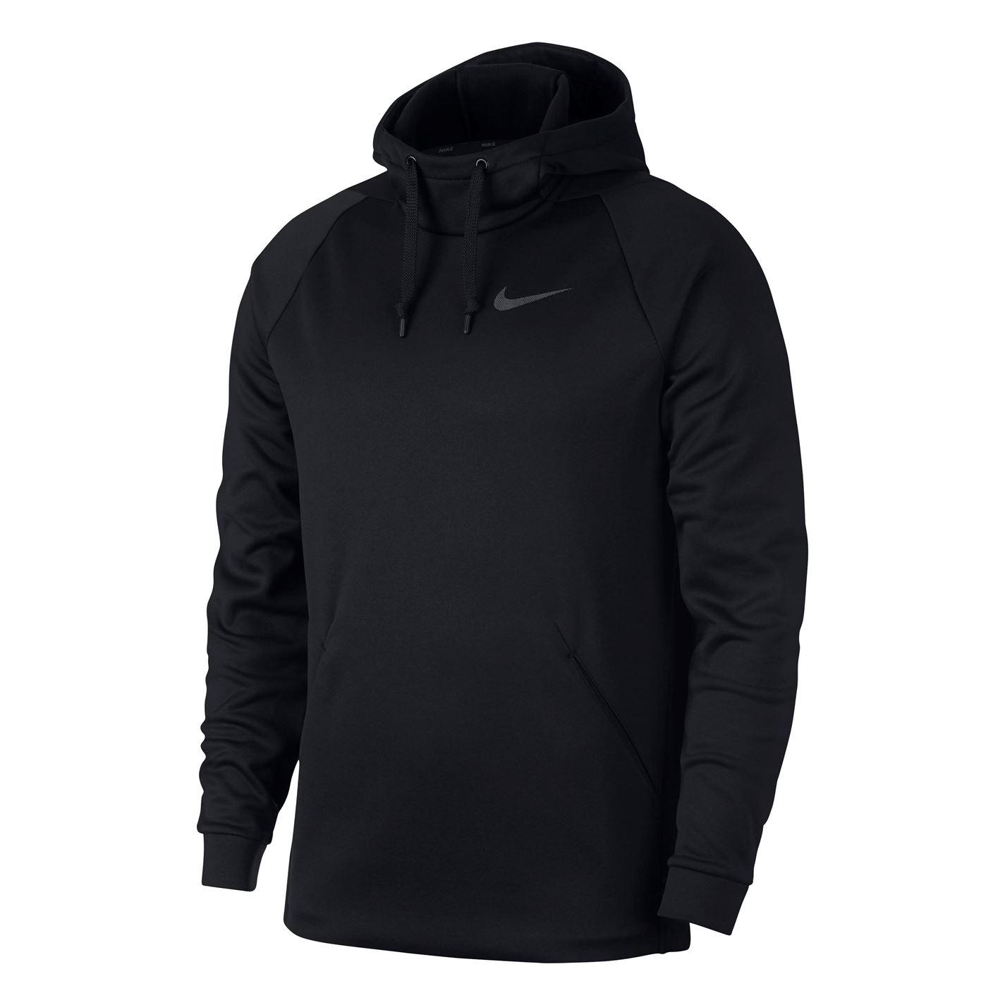 Nike Therma pánská mikina Black - Glami.cz 980bfe8fa5f
