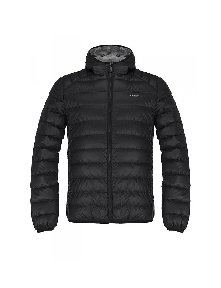 Pánska zimná bunda do mesta Loap - Glami.sk 7673d821100