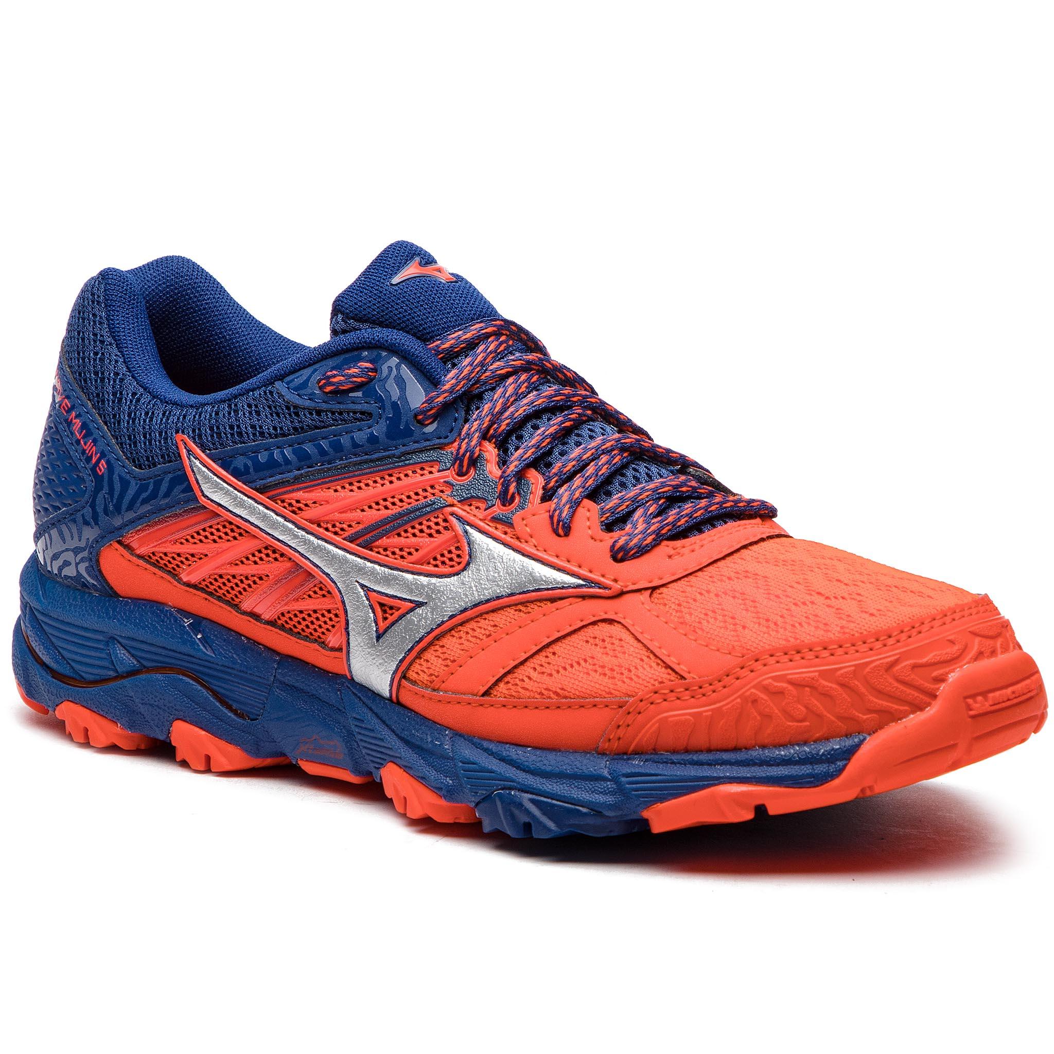 Topánky MIZUNO - Wave Mujin 5 J1GJ187003 Oranžová Tmavo modrá - Glami.sk 944b13557d7