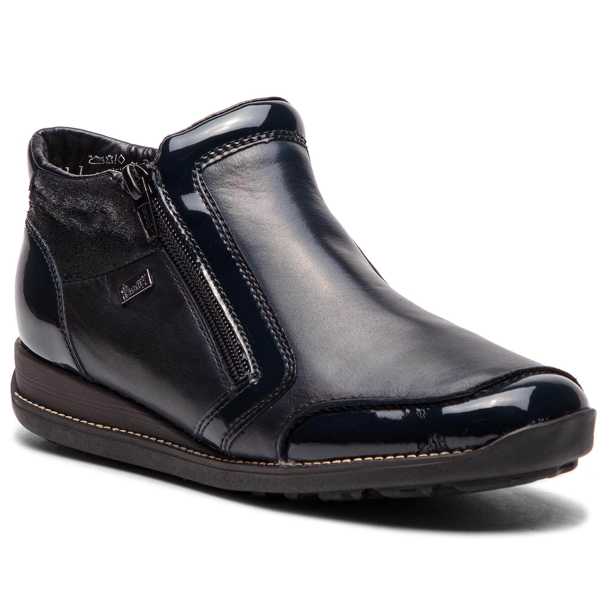 Magasított cipő RIEKER - 44278-14 Navy 1 - Glami.hu ab2ddfddd2