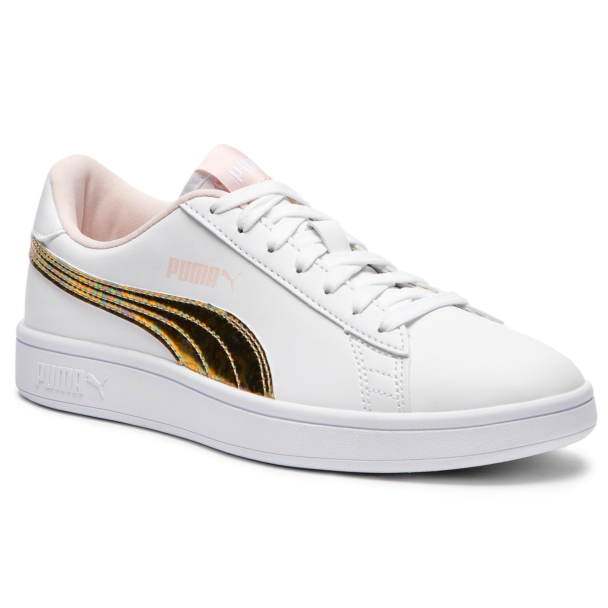 Sportcipő PUMA - Smash v2 Mermaid Jr 365206 01 Puma White Pearl ... 4f12fbe606