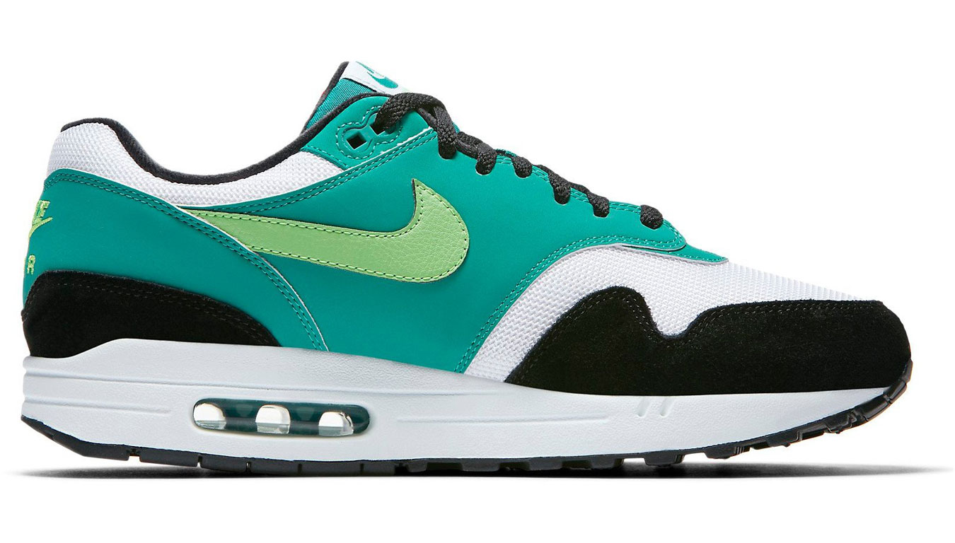 official photos 938f0 957a2 ... Air Max 1 White Green Strike-Neptune Green-Black AH8145-107. -20%. Nike  ...