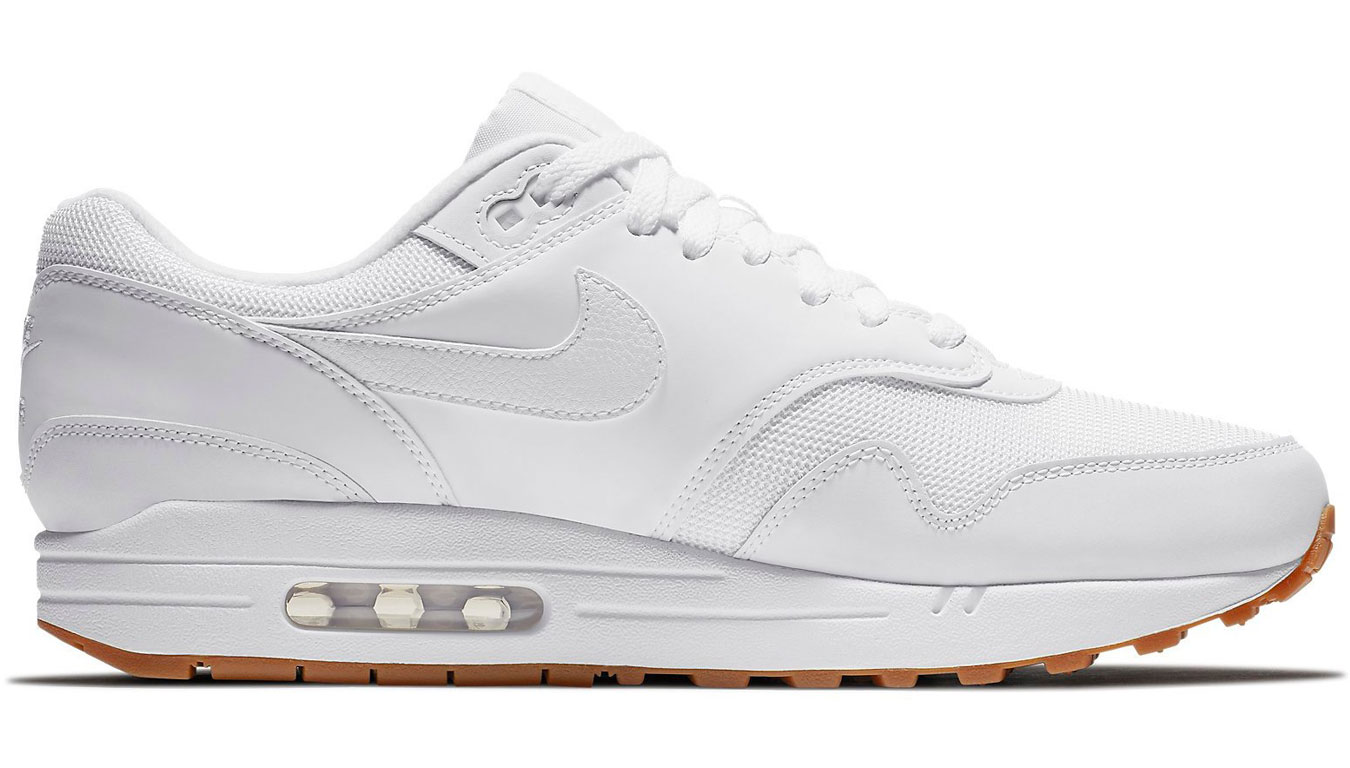 super cute 38b07 08677 ... Air Max 1 White White-White-Gum Med Brown AH8145-109. -20%. Nike ...