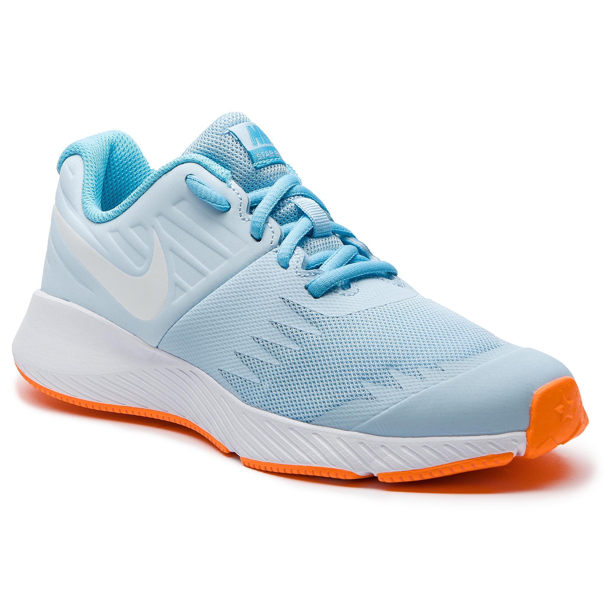 Boty NIKE - Star Runner (GS) 907257 404 Cobalt Tint White Blue Chill ... ed6a5d8a81