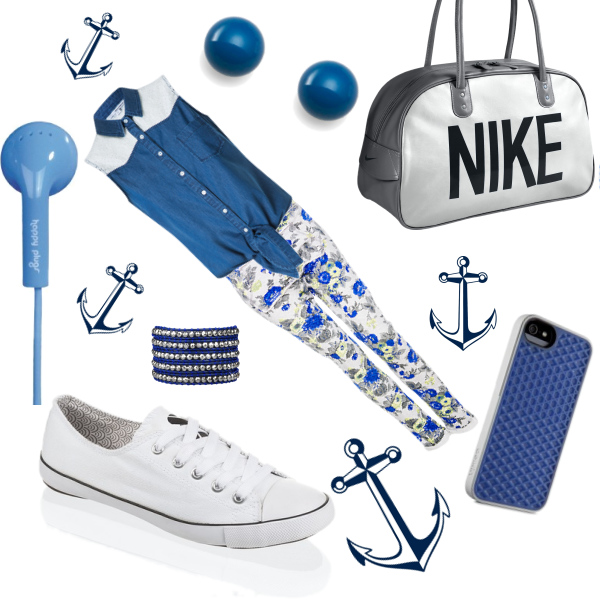navy fashion