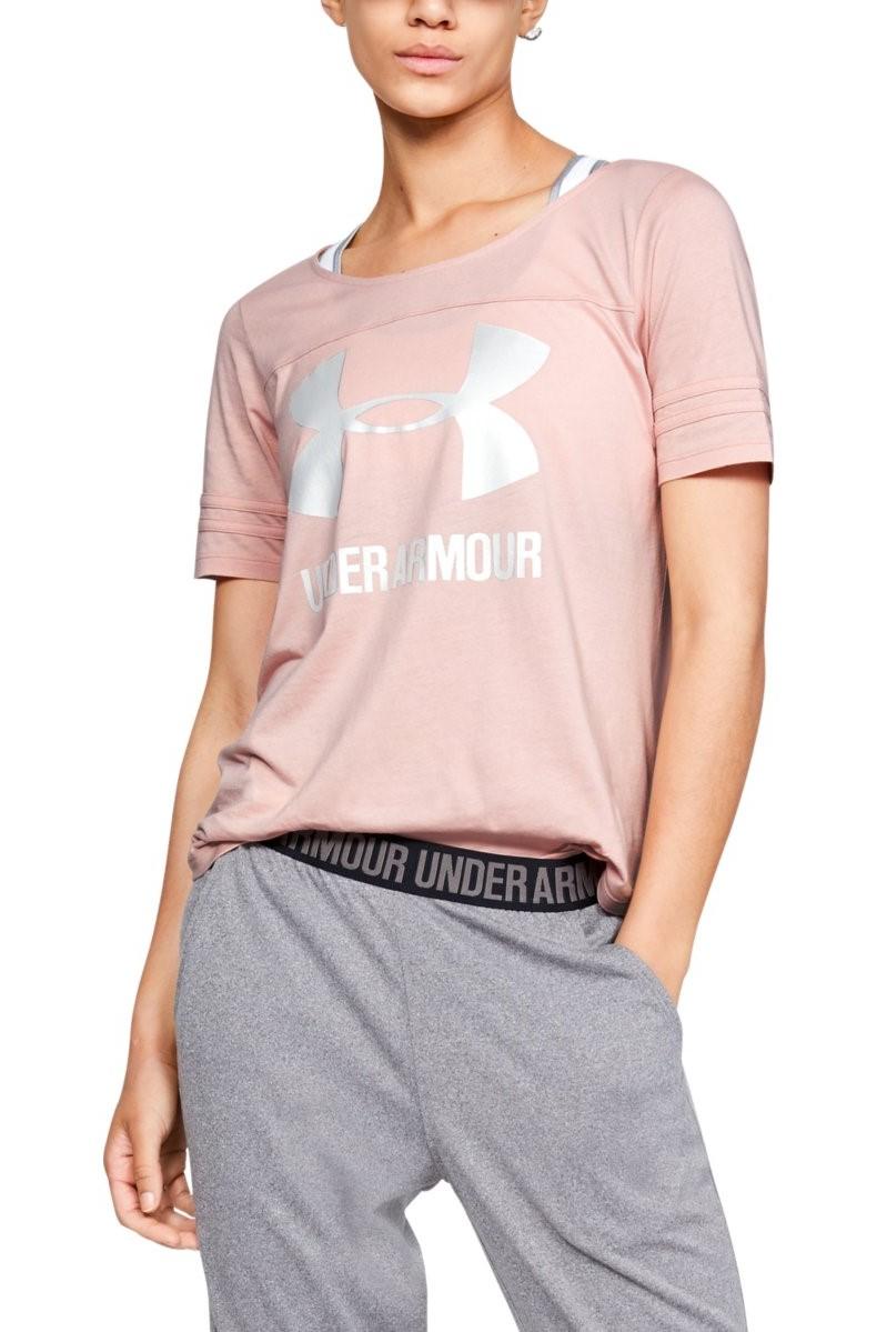 bed111c11cd7 ... Under Armour ružové dámske tričko Sportstyle Baseball. -5% -25%
