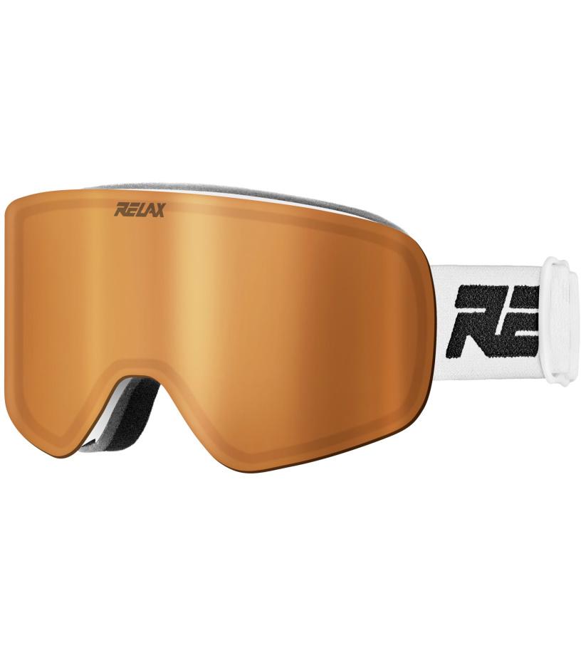 f7f279394 RELAX FEELIN Lyžiarske okuliare HTG49A biela - Glami.sk