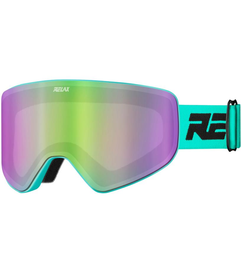 f6215e40f RELAX SIERRA Lyžiarske okuliare HTG61B čierna / tyrkysová - Glami.sk