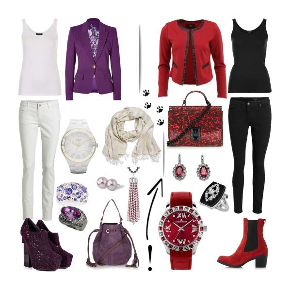 I love red'n'purple ;)