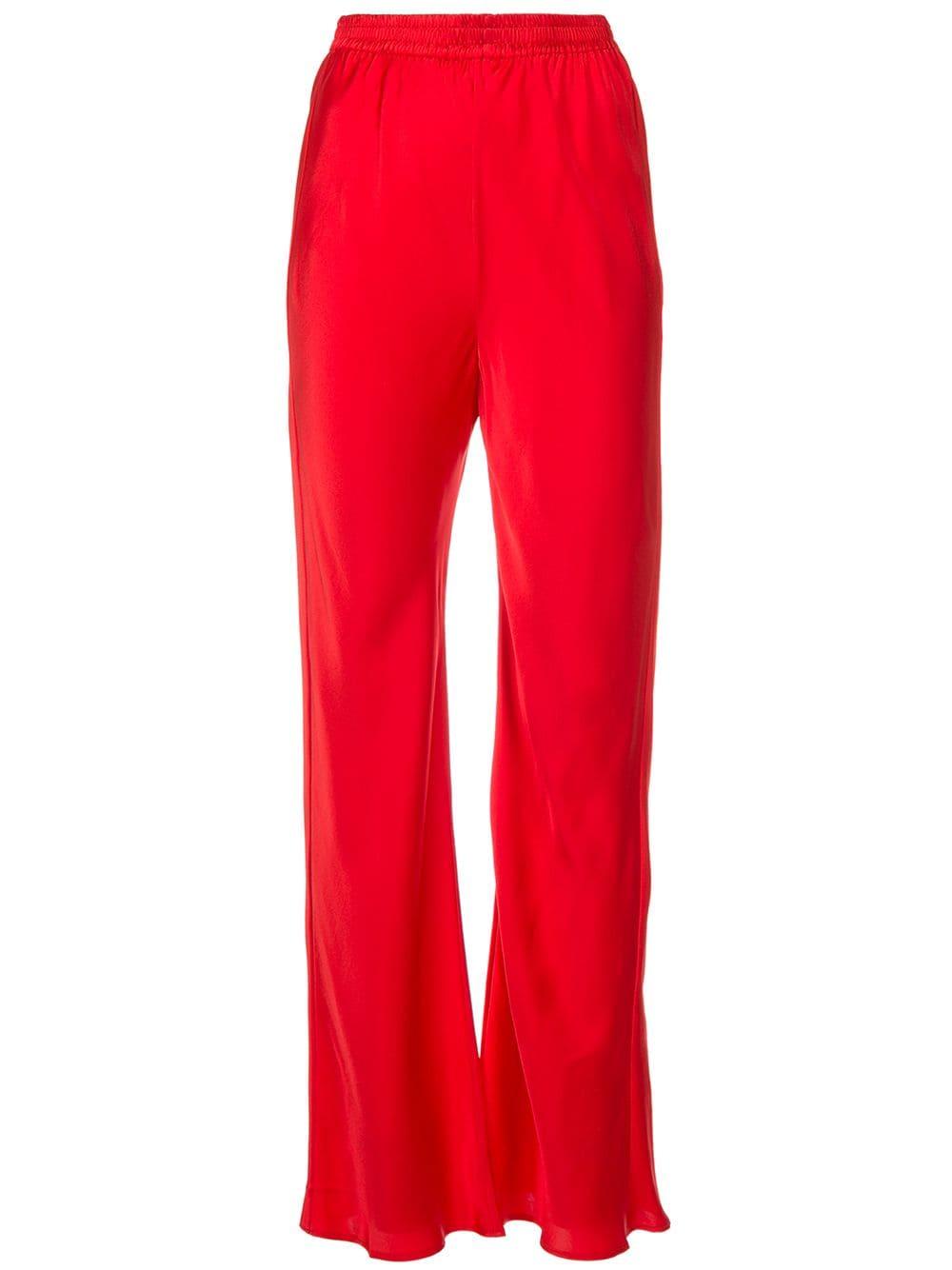 98137e9f265 Michael Lo Sordo flared high waisted trousers - Glami.cz