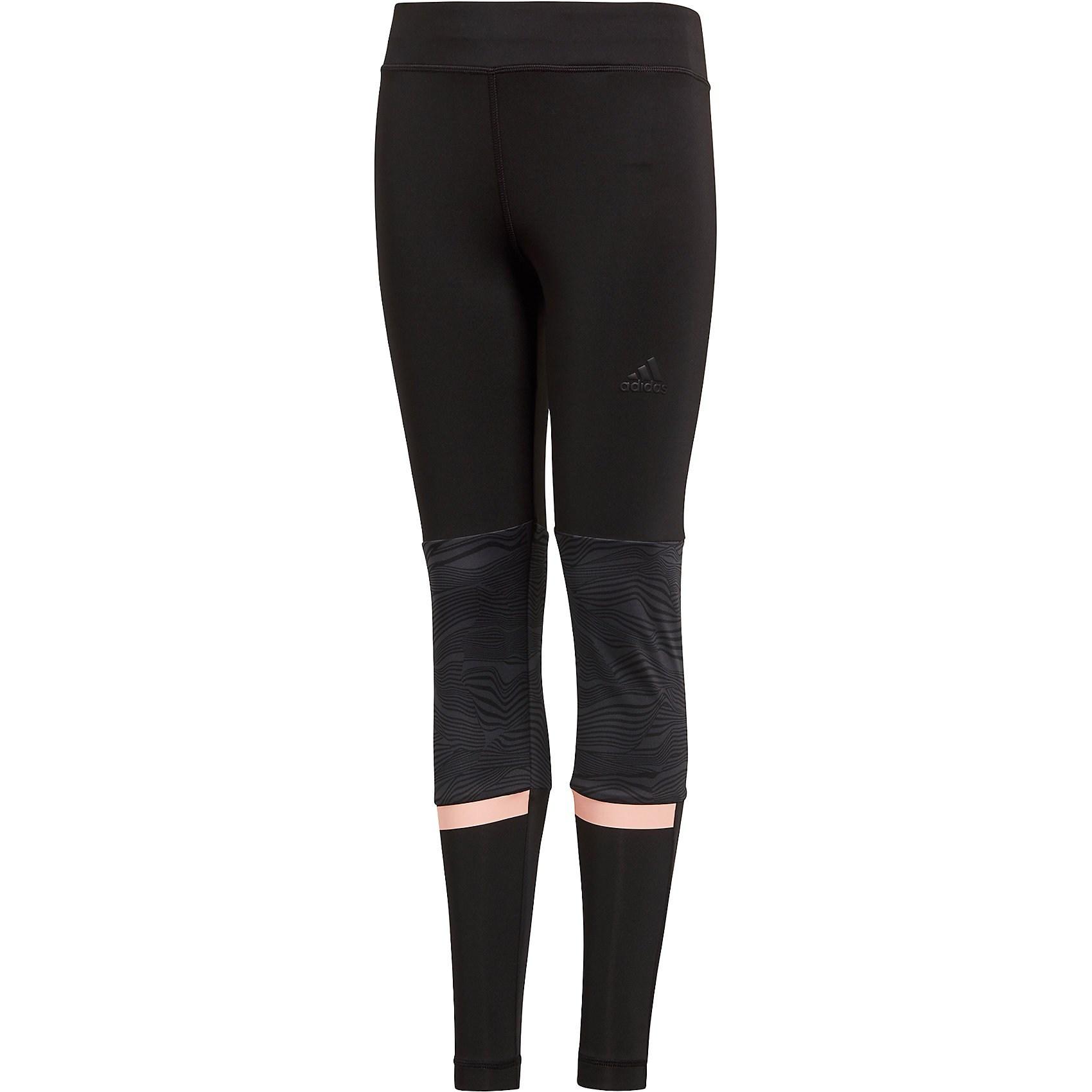 ... ADIDAS PERFORMANCE Sportovní kalhoty  YG TR 1 1 Tight  broskvová   černá.  -25% Nové ... 271363309e