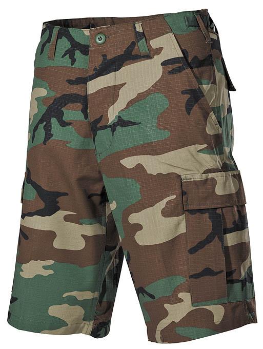 Krátké kalhoty MFH US BDU Rip-Stop - woodland - Glami.cz a928deb552
