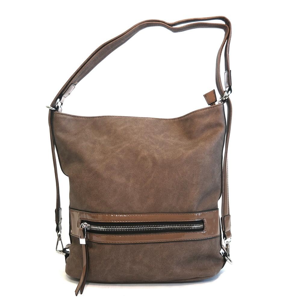 Dámská kabelka na rameno ROMINA CO D122 tmavohnědá (kávová ... 660fe972f75