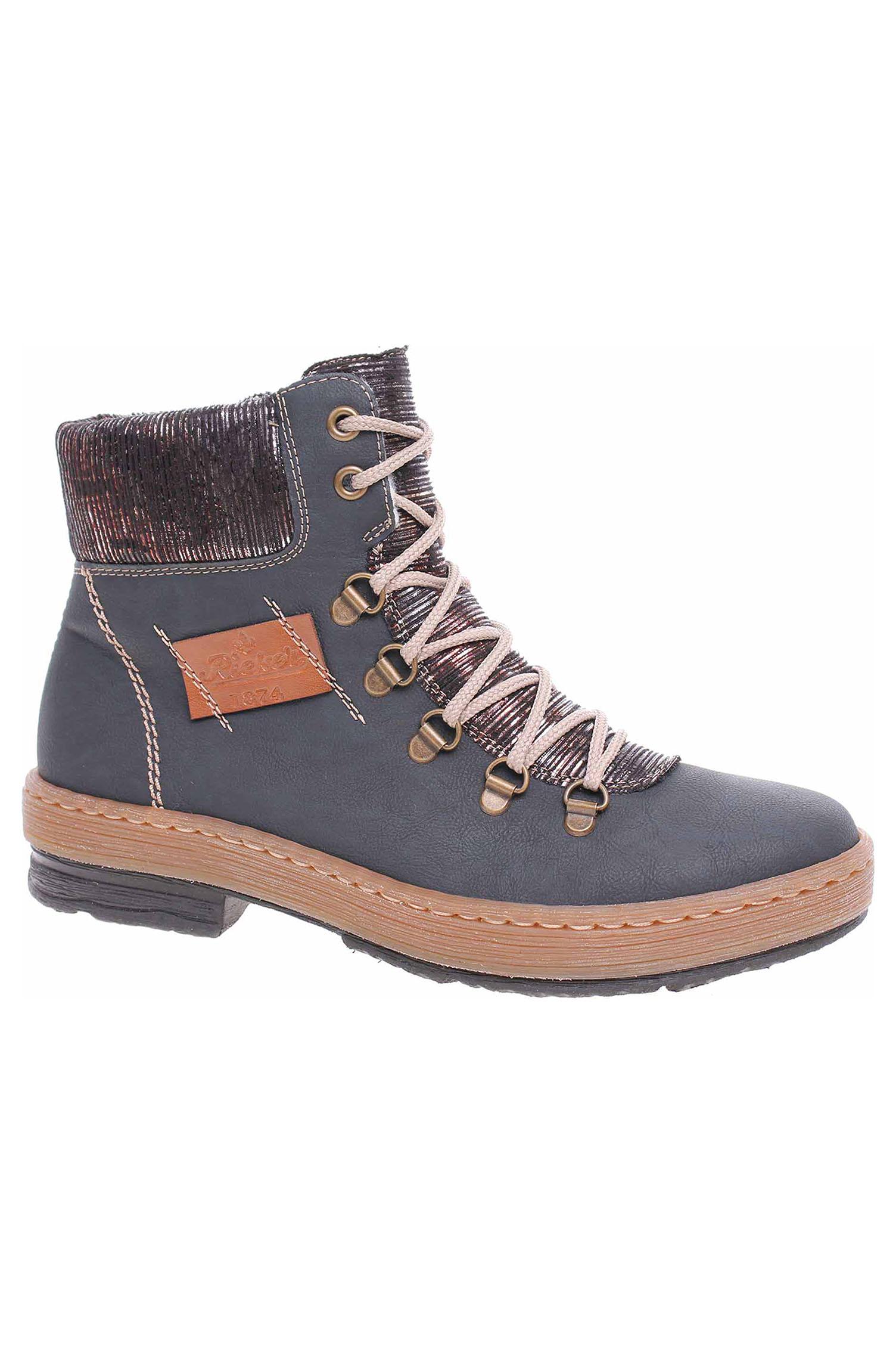 332b0aaf8d Dámská kotníková obuv Rieker Z6743-14 blau Z6743-14 - Glami.sk